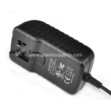 24V 1A Power Adapter with interchangeable plug