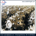 welding type tci single roller cone bit cutters