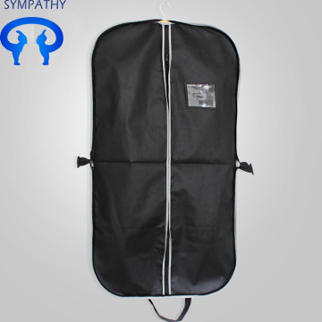 Portable portable folding suit bag with dustproof cover