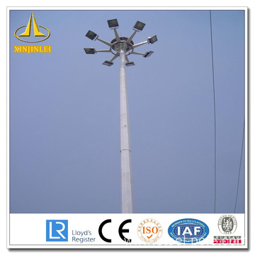 Best Quality for Factory of Steel Lighting Pole High Mast, 30m High Mast Pole, High Mast pole for stadium from China Sliver Otcagonal High Mast Light Pole supply to Ireland Supplier