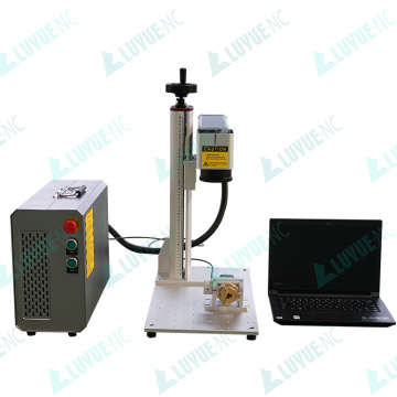 Gold Jewelry 20w/30w Fiber Laser Ring Marking Machine