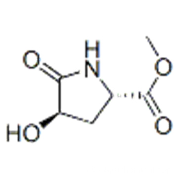 Proline, 4-hydroxy-5-oxo-, methyl ester, trans- (9CI) CAS 180321-18-0