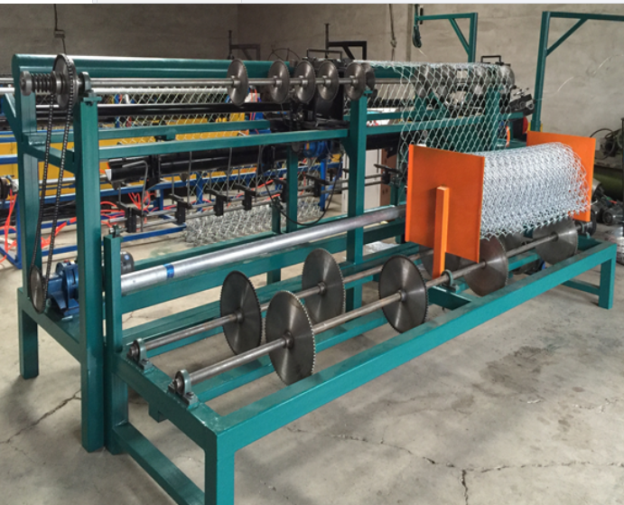 Fully Automatic Chain Link Fence Weaving Machine