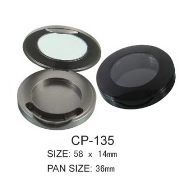 Emtpy Round Cosmetic Eyeshadow