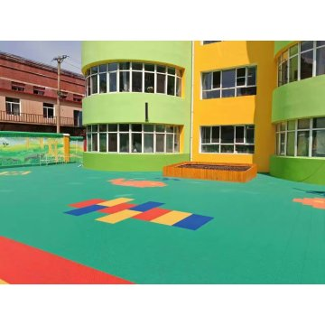 Enlio Outdoor Kids Playground PP Sports Flooring