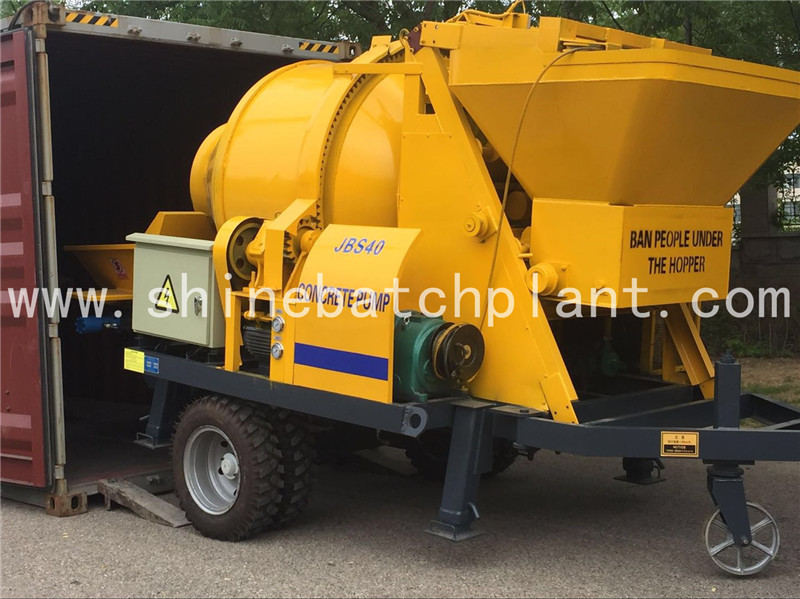Popular Concrete Pump with Mixer For Sale
