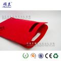 Wholesale customized design felt wine bag