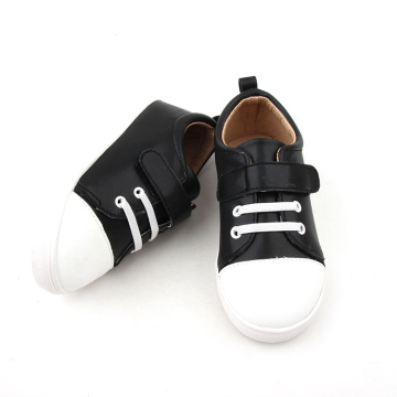 Black And White Baby Casual Shoes