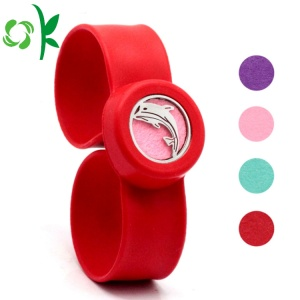 Promotion Scented Watch Strip Silicone Slap Bracelet