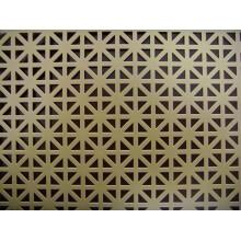 Low MOQ for for Security Perforated Sheets Decorative Perforated Metal Mesh supply to Germany Factory