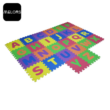 Non-toxic EVA Foam Colorful Alphabet Play Puzzle Mat
