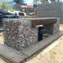 Factory provide nice price for  Rock Block Retaining Walls Zinc Aluminum Gabion Baskets supply to Spain Manufacturers