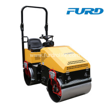 China for 800Kg Road Roller Small Double Drum Vibratory Roller Compactor For Asphalt supply to Poland Factories
