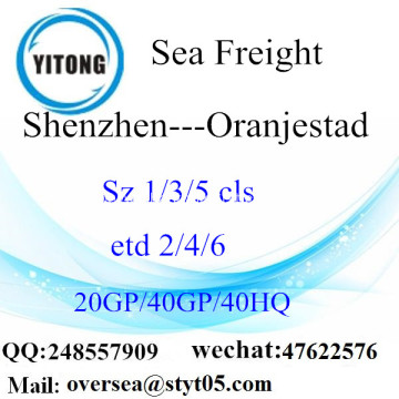 Shenzhen Port Sea Freight Shipping To Oranjestad
