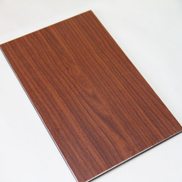 Wood grain aluminum composite panel acp panels