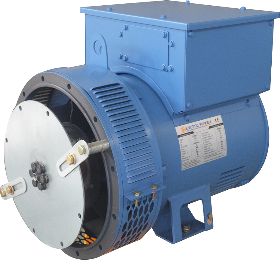 Evotec 16kw-200kw Low Voltage Generator