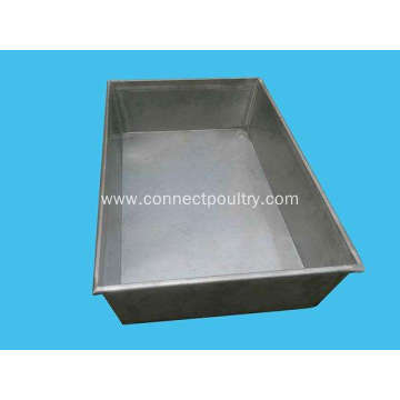 Stainless steel freezing tray tray