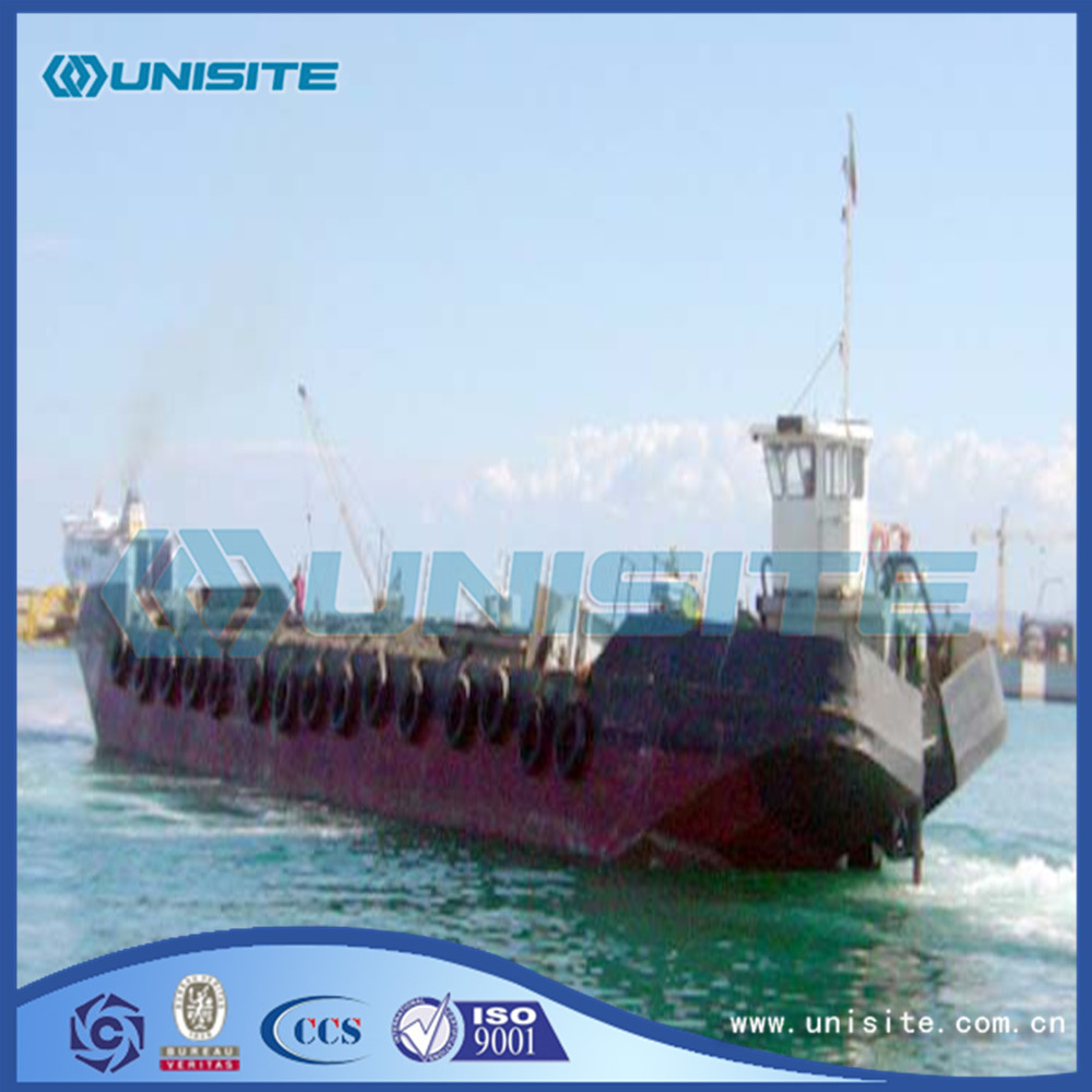 Customized marine hopper split barges