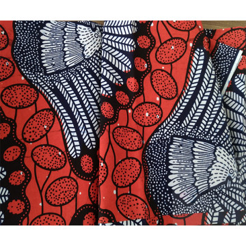 Wax Print Fabric Cotton Fabric For Clothing