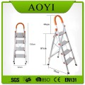 D type 4 steps household ladder