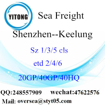 Shenzhen Port Sea Freight Shipping To Keelung