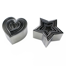 Excellent quality for for Stainless Steel Cookie Cutter Stainless Steel Heart Star shaped Cookie Cutter supply to Indonesia Wholesale