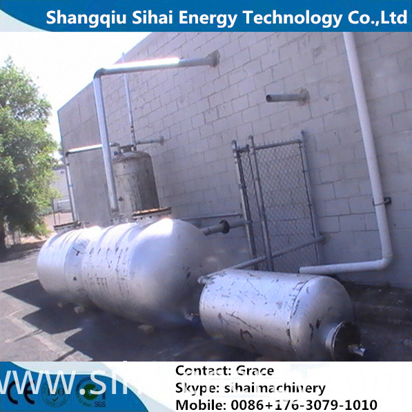 Tyre Oil Refining Equipment
