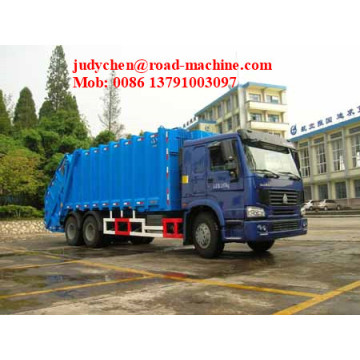 10m³  Howo Compact Garbage Truck