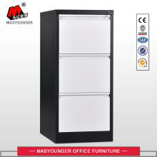 Hot sale Factory for China Vertical File Cabinet,Vertical Filing Cabinet,A4 Filing Cabinet Supplier Knocked Down Black and White File Cabinet export to Lesotho Suppliers