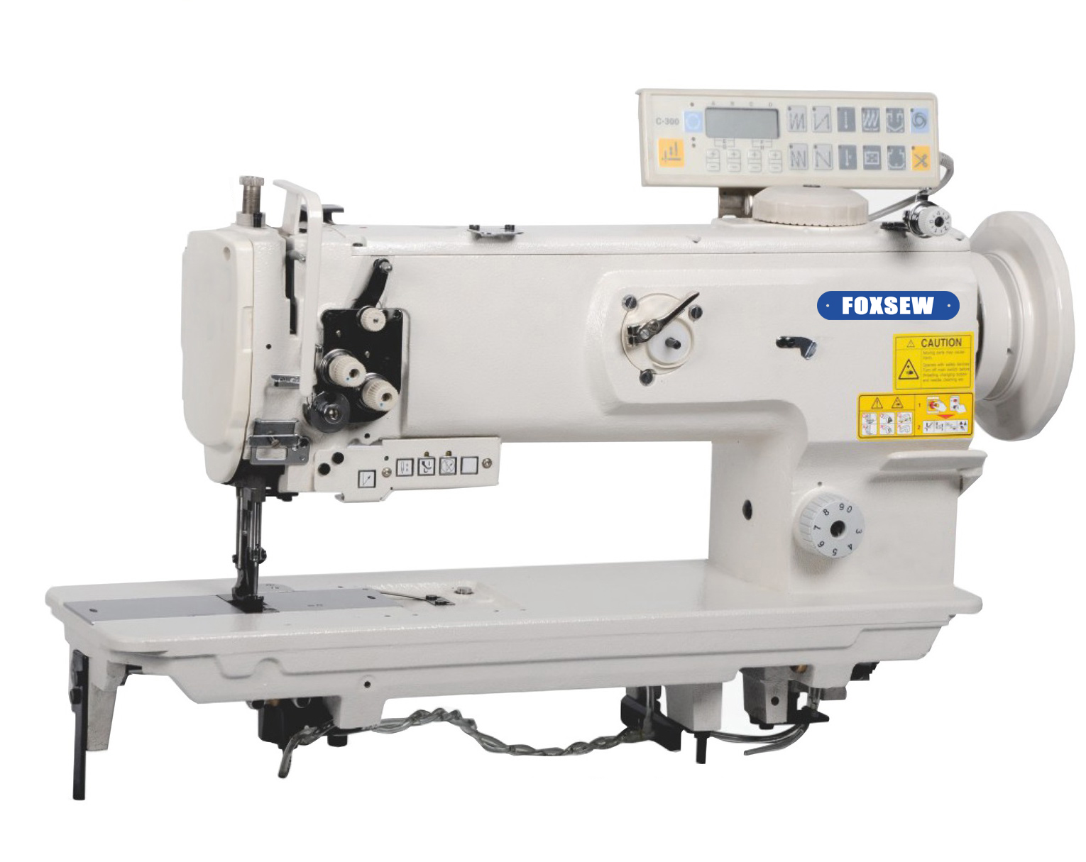 KD-1510N-L14-7 Single Needle Heavy Duty Sewing Machine with Auto Trimme