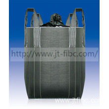 Bottom price for Carbon Black Fibc 1000kg PP Carbon black FIBC bag export to Gibraltar Exporter