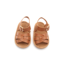 Soft Leather Baby Boy Shoes Sandals for Newborn