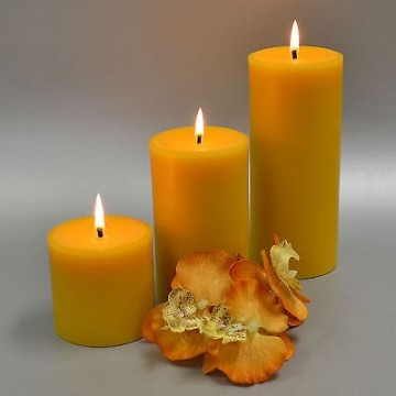 Wholesale Good Quality Church Pillar Pure Beeswax Candle