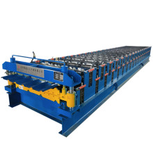 Panel double ibr roof sheet roll forming machine