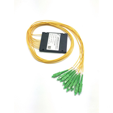 PLC 1*8 ABS BOX splitter sc apc connector