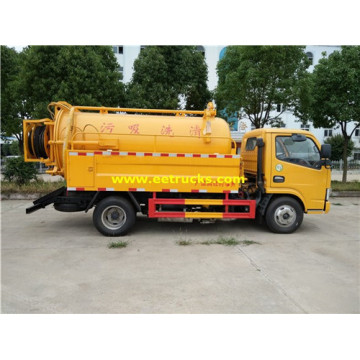 2500L 130HP Sewer Vacuum Trucks