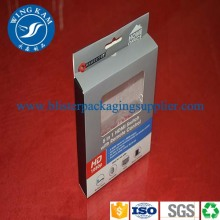Paper Box Packaging with Window for Electronic Product