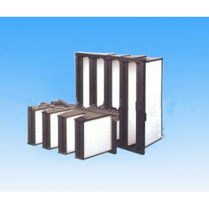 V-bank Mini-pleat HEPA Filter