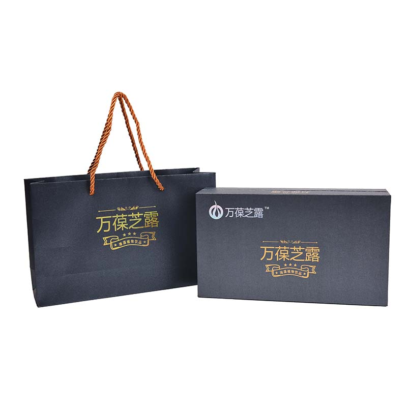 high-end seaweed plant beverage gift box
