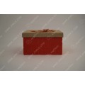 Sackcloth bow tie gift box