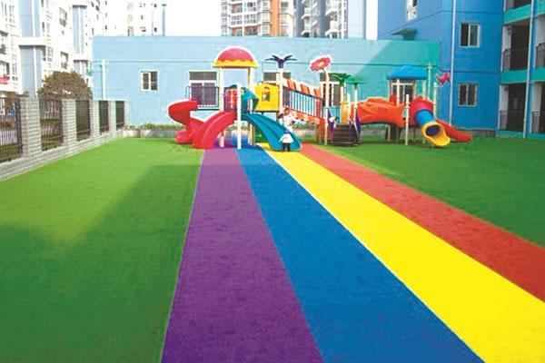 Outdoor Coloured Artificial Grass