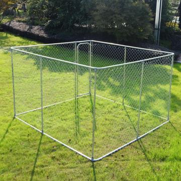 Top Cover Galvanized Dog Cage