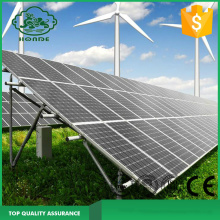 Solar Panel Ramming Pole Mounting System