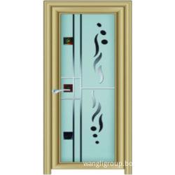 Pintu Aluminium Digunakan Untuk Tandas Dapur Bilik Mandi Dengan Kaca Wl W8006
