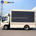 high quality led mobile stage truck