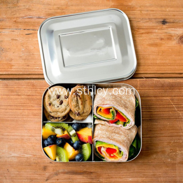 304 Personalized Stainless Steel Food Container For Kids