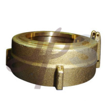 Forging or casting brass water meter cover