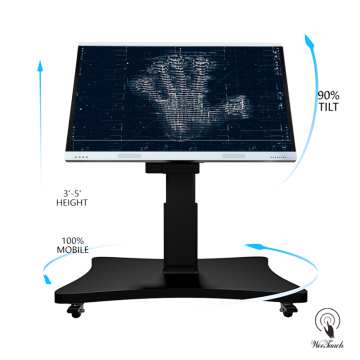 75 Inches Interactive Panel With Automatic Stand