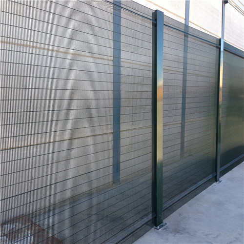 358 Welded Galvanized Security Mesh Fence