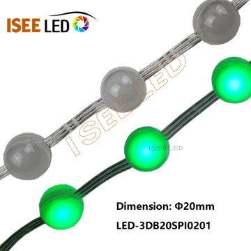 3D 20MM LED Ball Bead String Light